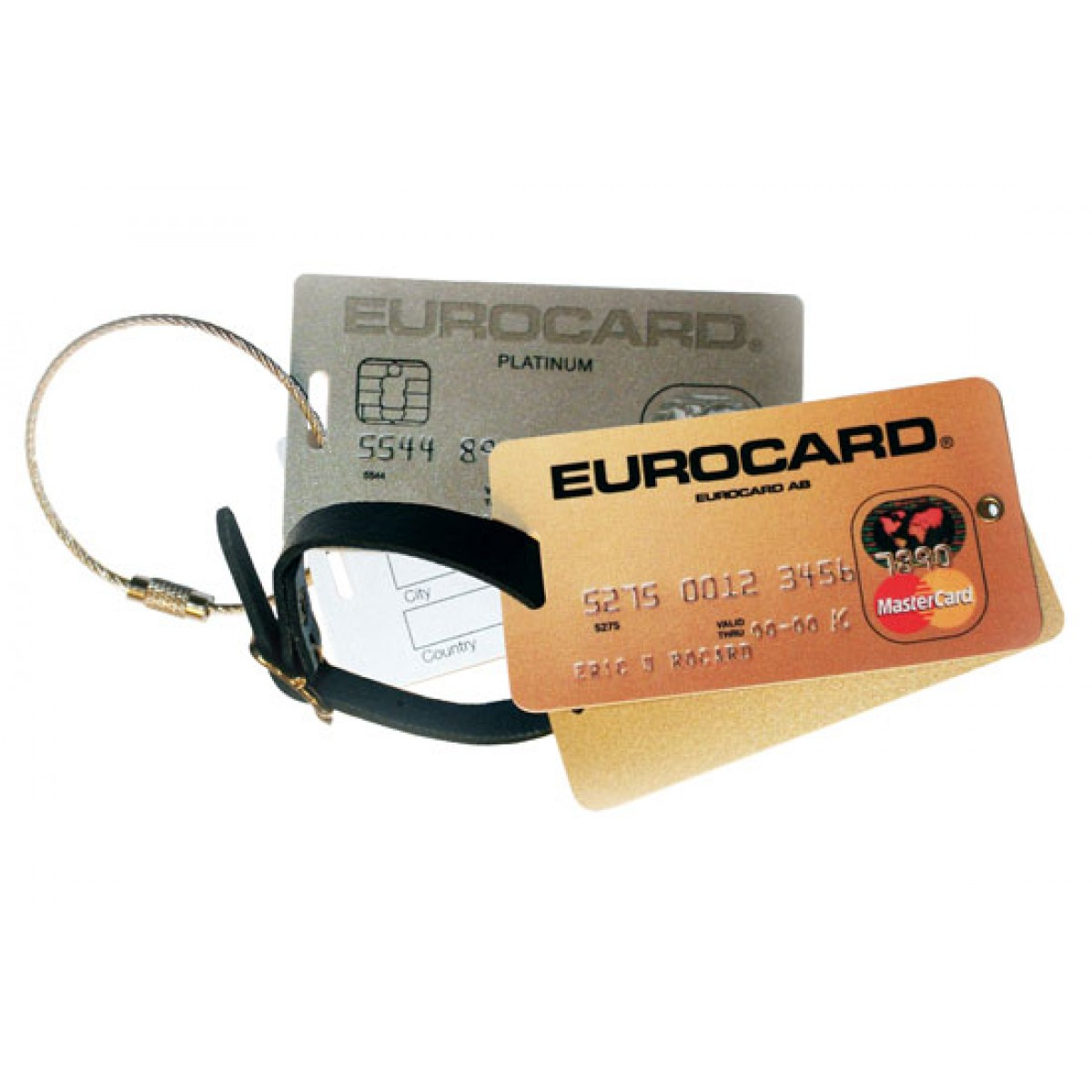 Bagagebricka Card
