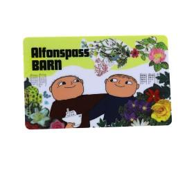 Plastkort Alfons - Barnpass