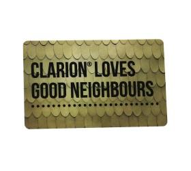 Plastkort Clarion - Hotellkort