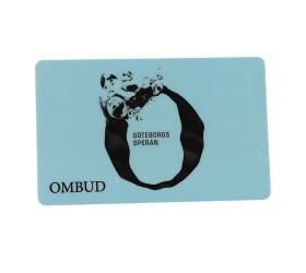 Plastkort GöteborgsOperan - Ombudskort