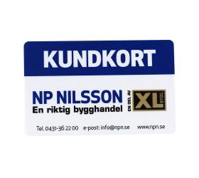 Plastkort XL-Bygg - Kundkort