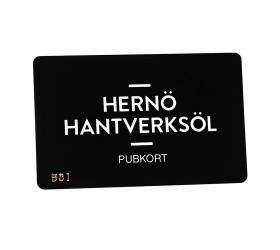 Plastkort Hernö Hantverksöl - Pubkort