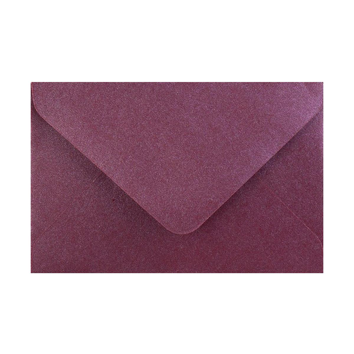 Kuvert Aubergine Pärlemor