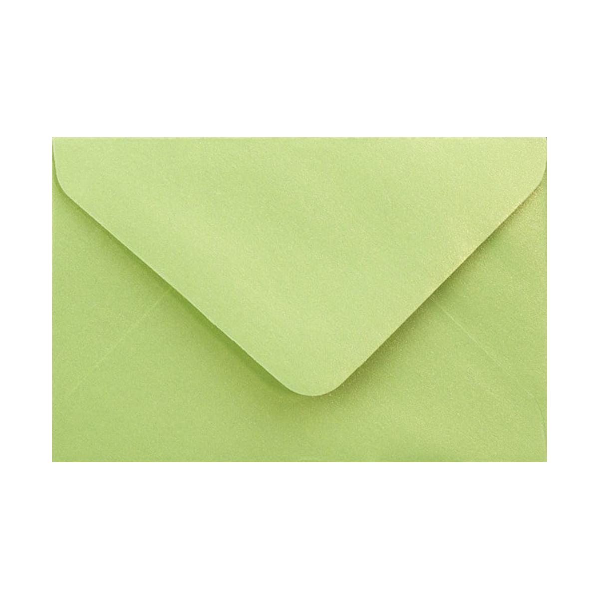 Kuvert Lime Pärlemor
