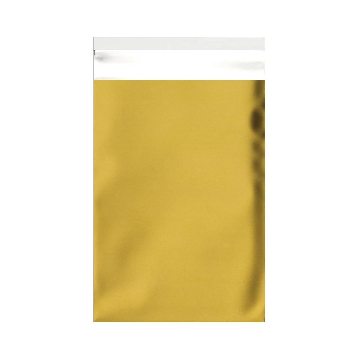 Mattfolierad påse Guld