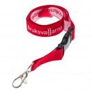 Nyckelband - Vävd logotyp