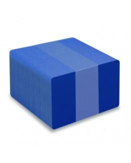 Blå plastkort