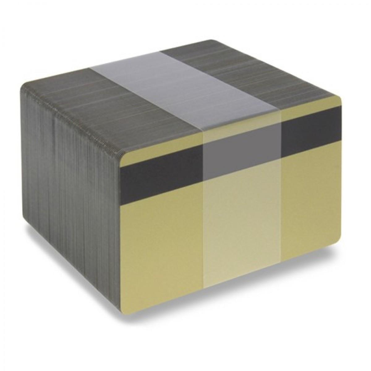 Guld plastkort - Magnetremsa