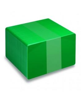 Gröna plastkort