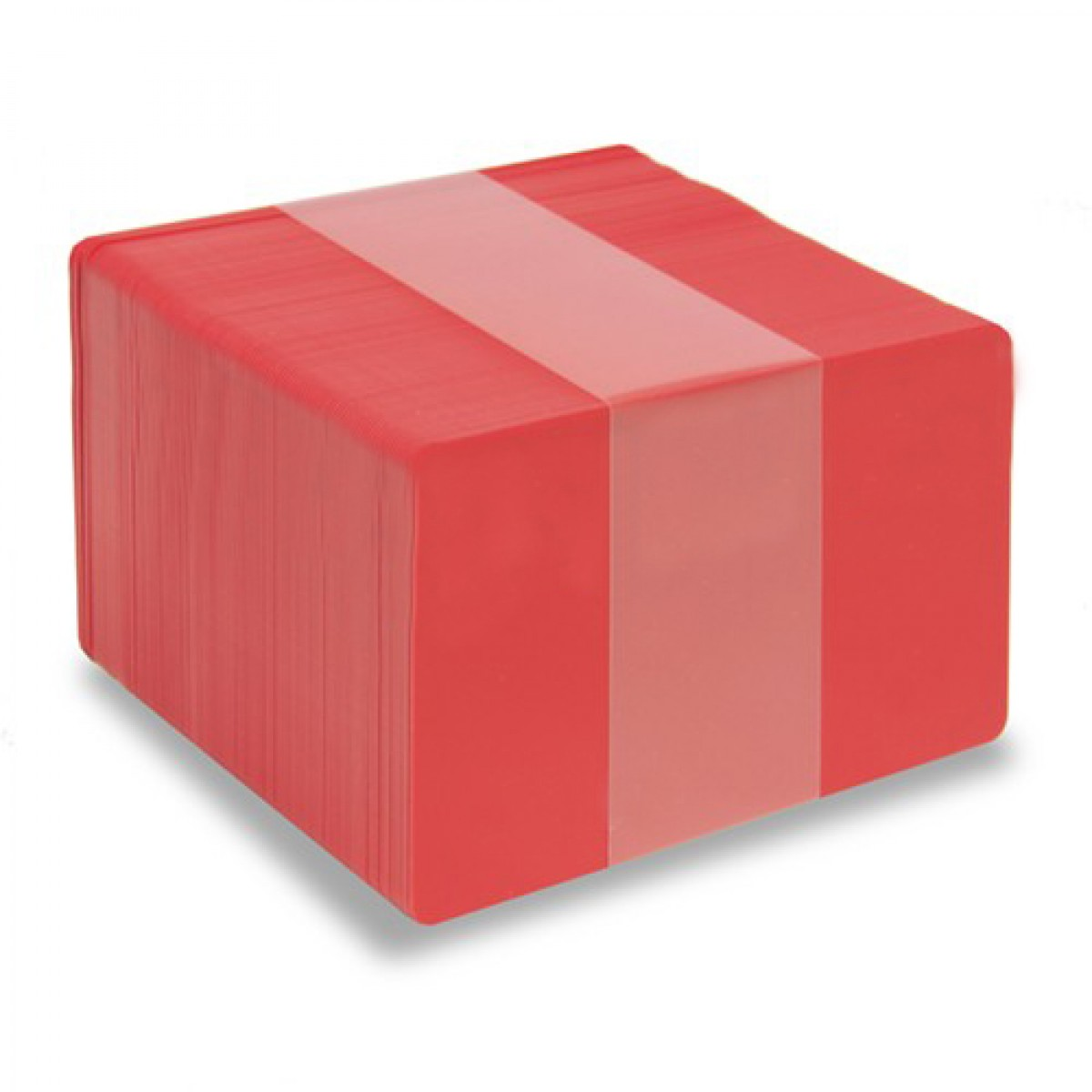 Röda plastkort