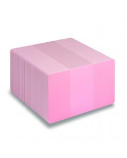 Rosa plastkort