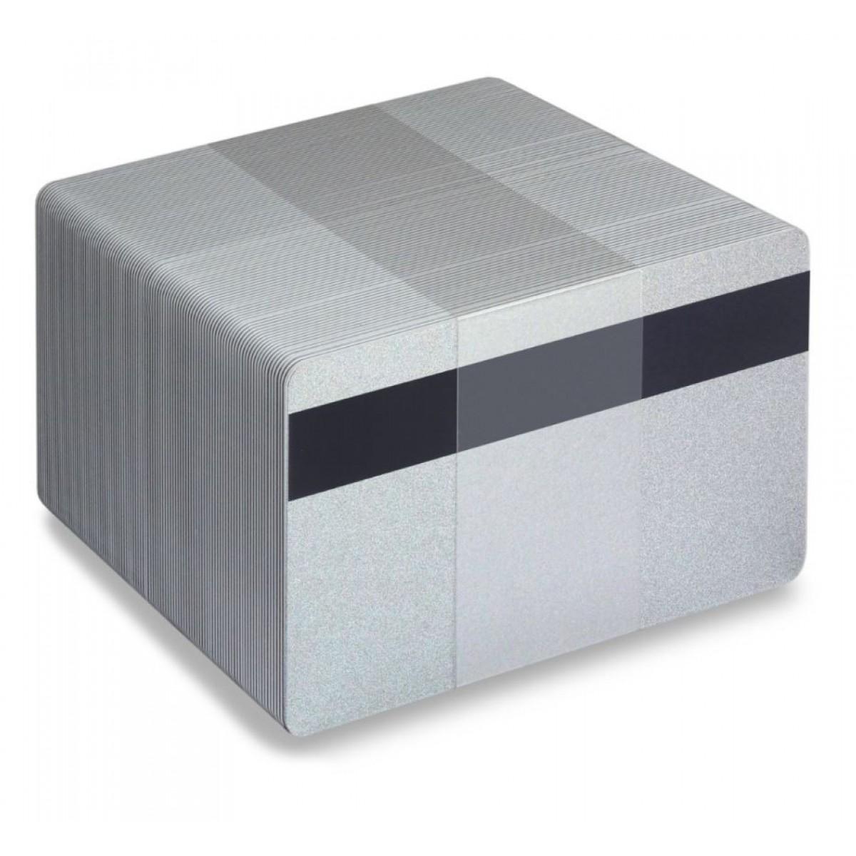 Silver plastkort - Magnetremsa