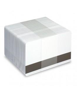 Vita plastkort - Magnetremsa