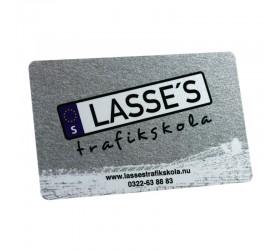 Plastkort Lasses - Metalliclack