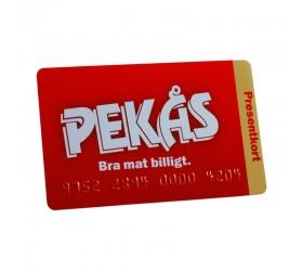 Plastkort Pekås - Presentkort