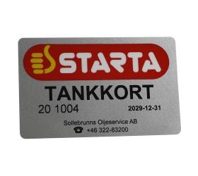 Plastkort Starta - Tankkort