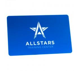 Plastkort Allstars - Träningskort