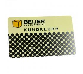 Plastkort Beijer - Kundkort