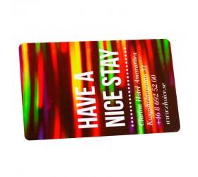 Plastkort Clarion - Nyckelkort