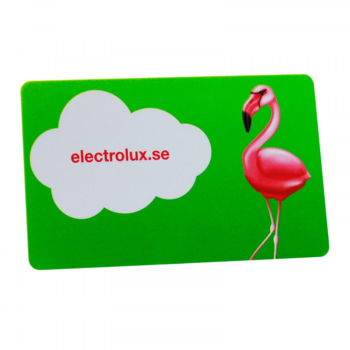 Miljövänliga plastkort