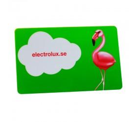Plastkort Electrolux - Blank yta
