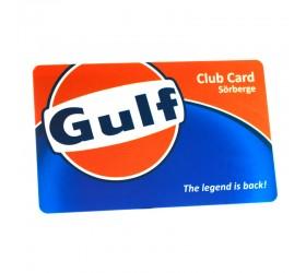 Plastkort Gulf - Klubbkort