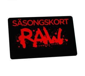 Plastkort Raw - Säsongskort