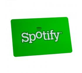 Plastkort Spotify - Blank yta