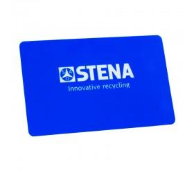 Plastkort Stena Recycling - Blank yta