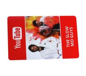 Plastkort Youtube - Företagskort